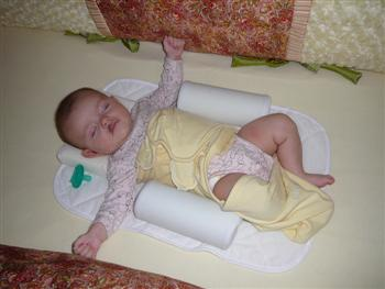 Breaking out of swaddle